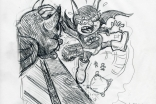 Mike Roberts | Roger Frames: 'Batfink' pencil rough