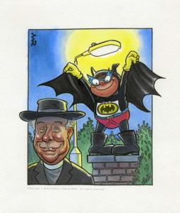 Roger Frames: Batman and the vicar